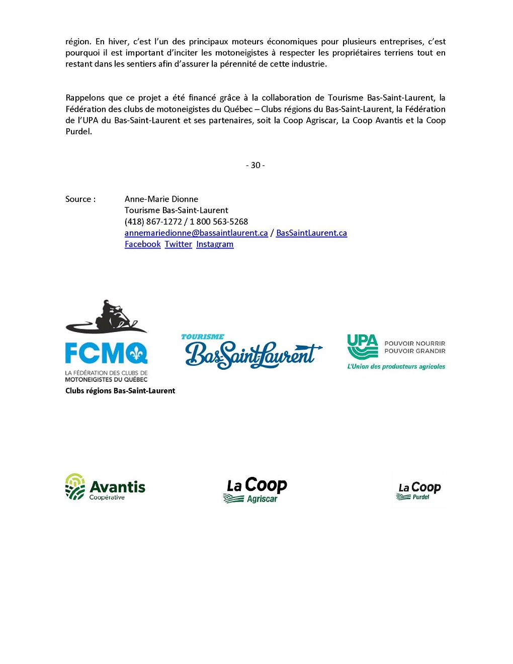 COMMUNIQUÉ -Motoneige- campagne sur la valorisation et la sécurité_Page_2 (Auteur : Angélika)