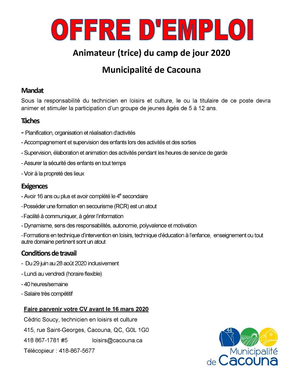 Offre d'emploi TDJ 2020 (2)