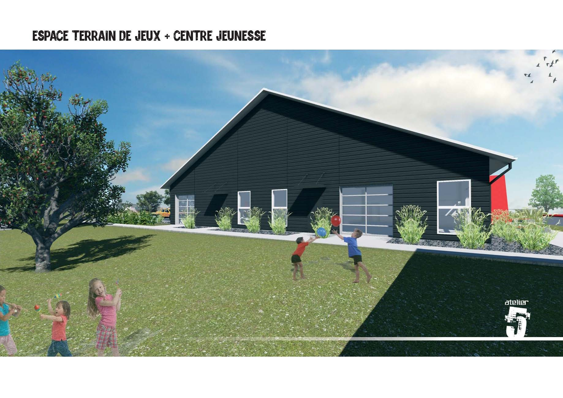 Futur bâtiment (Photo : © Angélika)