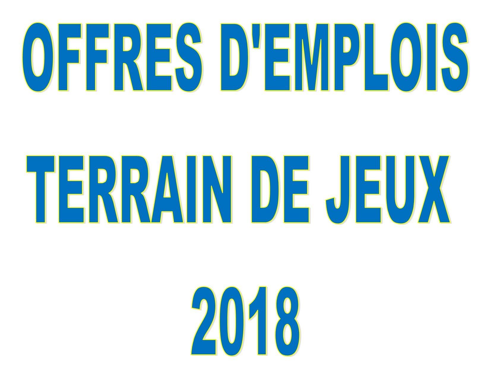Bannière offre d'emploi tdj 2018 (Photo : © Jean-Marie Brisson)