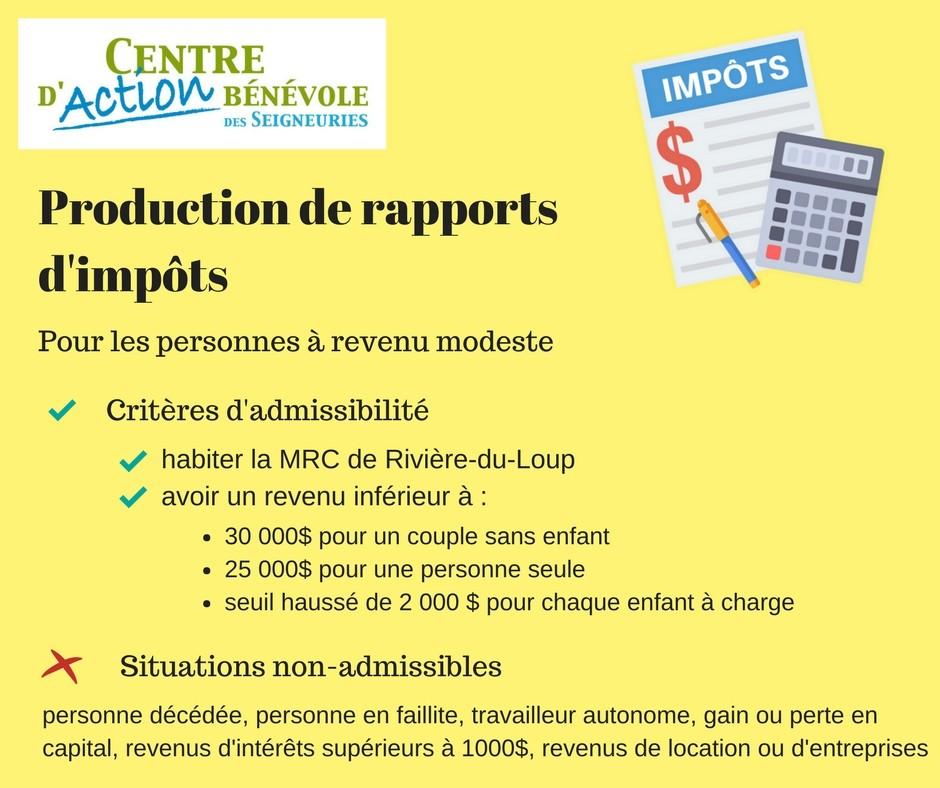 Production de rapport d'impôt 2017 (Photo : © Angélika)