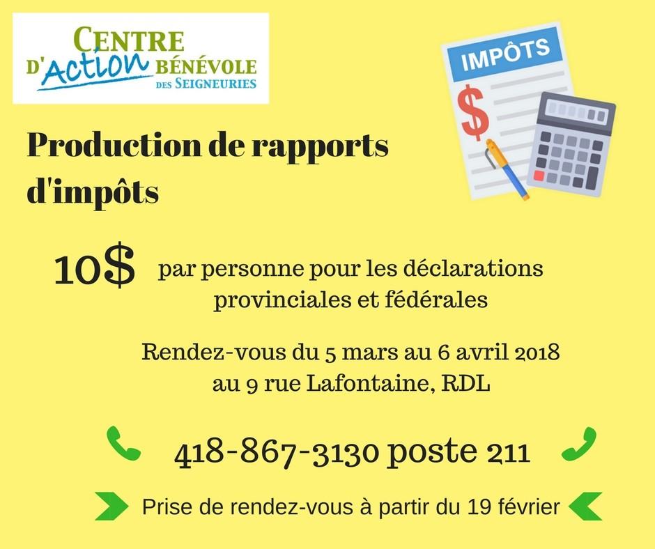Production de rapport d'impôt 2017 2 (Photo : © Angélika)