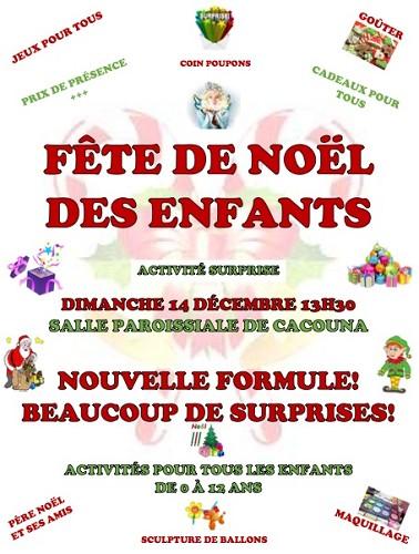 Publicité Fête de Noël (Photo : © Karine Boutin)