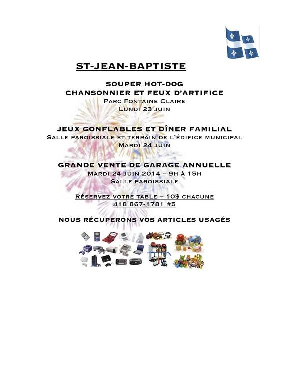 Programmation St-Jean 2014