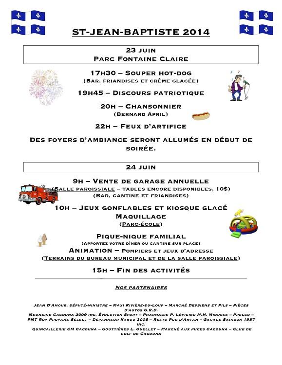 Publicité St-Jean 2014